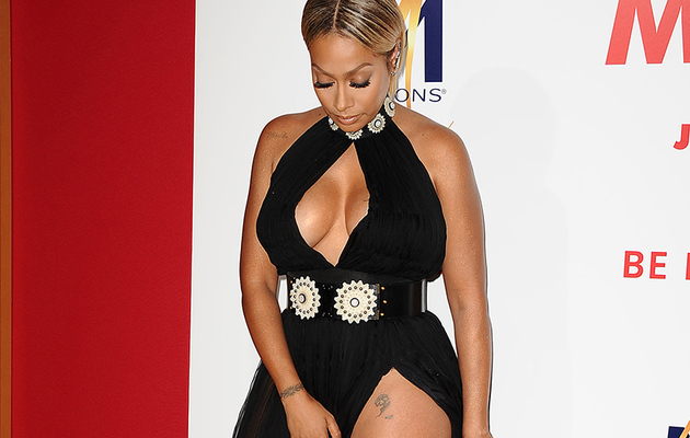 Whoa! LaLa Anthony Almost Flashed Everyone at Film Premiere