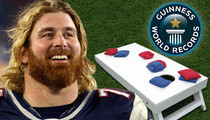 Ex-New England Patriots Star -- Gunning for Cornhole Glory