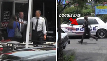 President Obama's Burger Run -- Secret Service Left Holding the Doggie Bag (VIDEO)