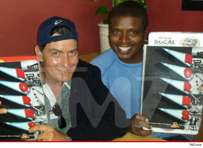 Charlie Sheen Best Friend