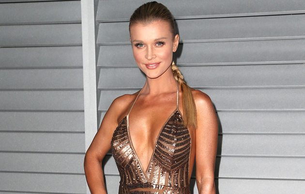 """RHOM"" Star Joanna Krupa Flaunts Major Cleavage at Maxim Hot 100 Bash"