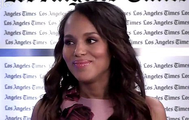 "Kerry Washington Says Motherhood is ""Dream Come True"" in First Post-Baby Interview"