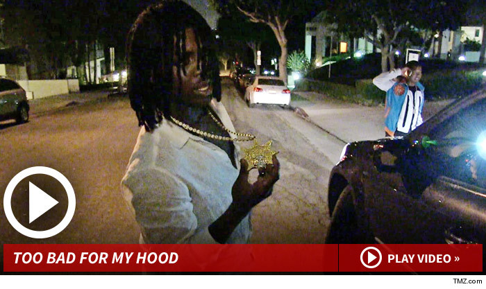 Chief Keef: Bad Behavior Triggered My Eviction