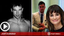 Lea Michele -- Her New Boyfriend Was a Pro ... At Playing Bimbo