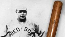 Babe Ruth -- 100-Year-Old Bat Hits Auction Block ... Expected to Fetch $350k