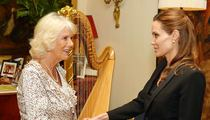 Camilla Parker Bowles and Angelina Jolie -- Meeting of Ex Side Pieces ... Who Wins?