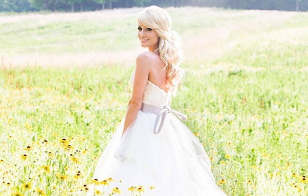 "See New Photo of ""Bachelorette"" Star Emily Maynard's Wedding Dress"