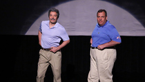 "Jimmy Fallon and Chris Christie Groove in ""Evolution of Dad Dancing"" Video!"