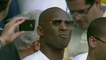 Kobe Bryant -- Just Your Average World Cup Spectator