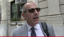 Matt Lauer -- Here 'Today' ... Here Tomorrow