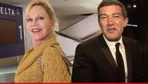 Melanie Griffith & Antonio Banderas Divorce -- She Wants Custody ... of the Dogs!