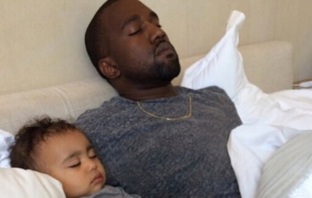 Kim Kardashian Posts Adorable North West Photo with Kanye West