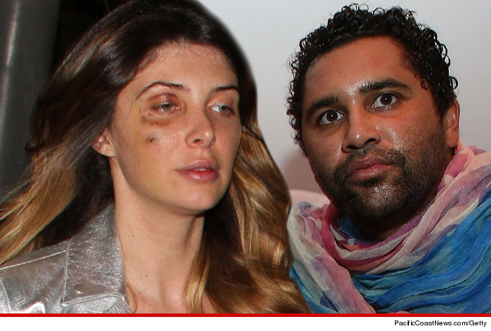 Retna and Brittny Gastineau Fight