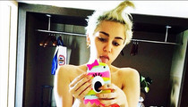 Miley Cyrus Shares Another Topless Pic -- See the Sexy Selfie!