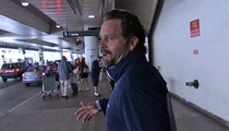 Eric Karros -- My Goatee Hides My Scar ... From Vicious 97-MPH Fastball