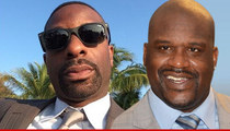 Shaquille O'Neal -- Secret DJ Training ... In Miami Beach