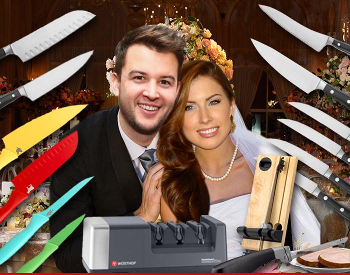 Aj Mccarron Amp Katherine Webb Dangerous Wedding Registry