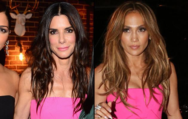 Dueling Dresses: Sandra Bullock vs. Jennifer Lopez