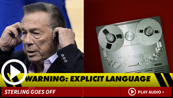 Donald Sterling Voice Mail -- Sterling BLASTS Doctor: 'YOU'RE Incompetent!!' (AUDIO)