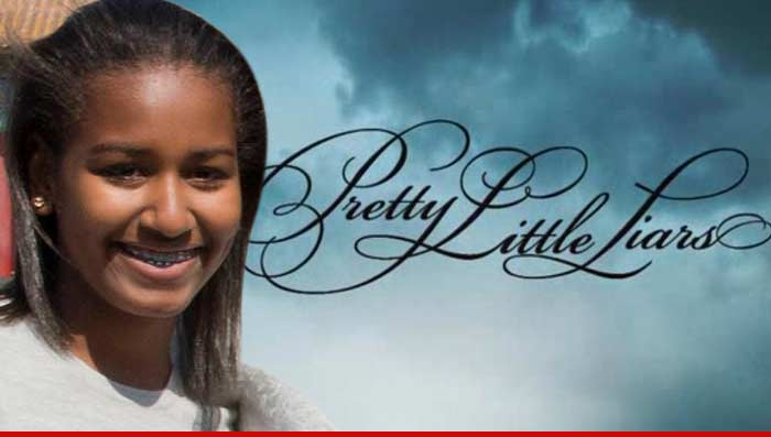 Sasha Obama Pretty Little Liars