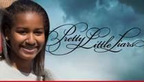 Sasha Obama Visits 'Pretty Little Liars' Set -- Goes Hollywood Too