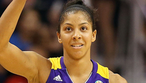 WNBA Star Candace Parker -- OFF THE HOOK ... In School Yard Clash