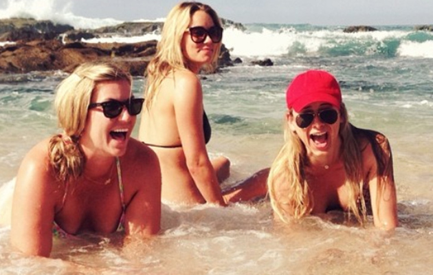 Lauren Conrad Shares Bikini Photos From Bachelorette Party!