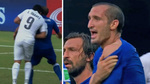 Soccer Star Luis Suárez -- Takes Bite Out Of Player -- During World Cup Match