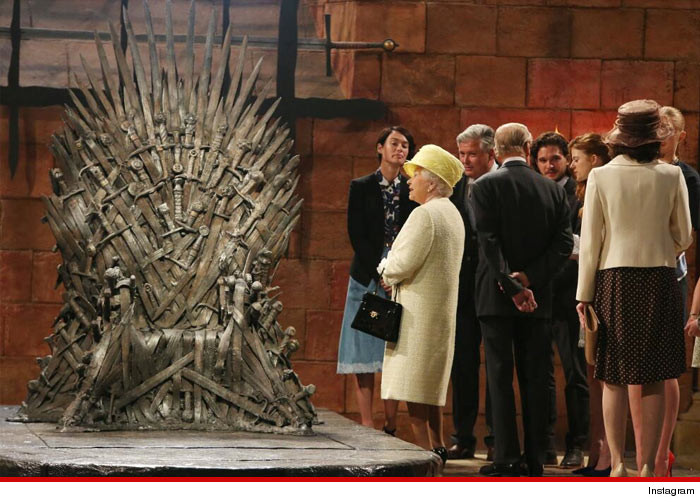 Queen Elizabeth Game of Thrones