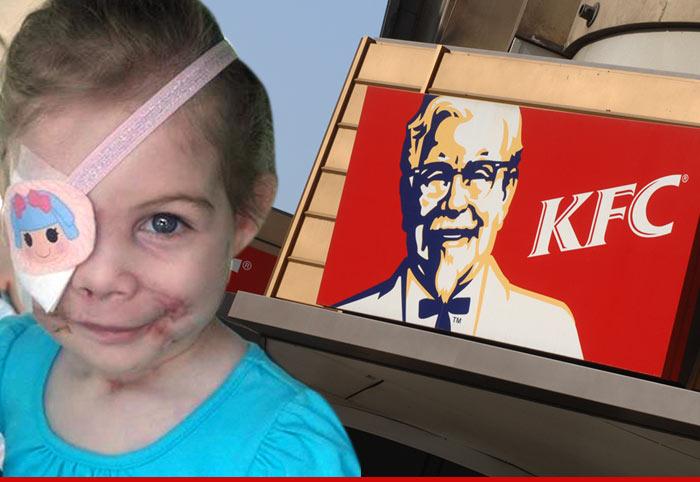 KFC Pit Bull Girl Hoax