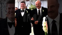 Dr. Phil Walks Famous Interior Designer Down the Aisle in Same-Sex Wedding