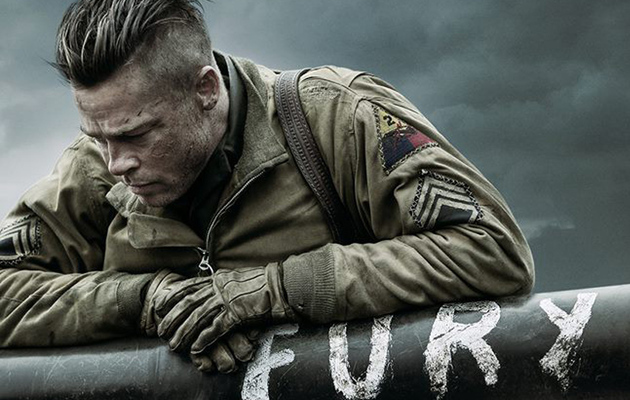"The First Trailer for Brad Pitt's ""Fury"" Is Here -- How's It Look?"
