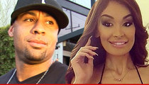 Hank Baskett's Alleged Mistress Warns Mag ... Stop Spreading Lies!