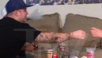 Rob Kardashian ... Deep into Sizzurp and Weed -- Family Pushing for Rehab