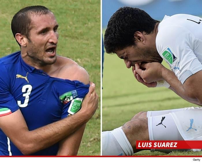 Luis Suarez Suspended