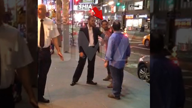 Shia LaBeouf -- Looking to Fight ... Outside NYC Strip Club (VIDEO)