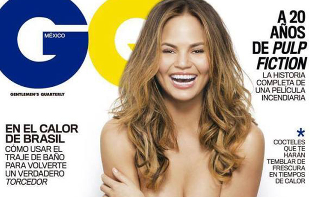 Chrissy Teigen's Topless Photoshop Fail: Where's Her Nipple?!