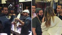 Khloe Kardashian -- French Montana Drops a Load On Khloe for 30th Birthday