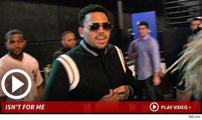 Chris Brown — Sorry BET, I'm Not Doing Reality TV