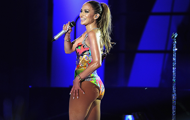 Jennifer Lopez Shows Off That Booty at Miami Pool Party