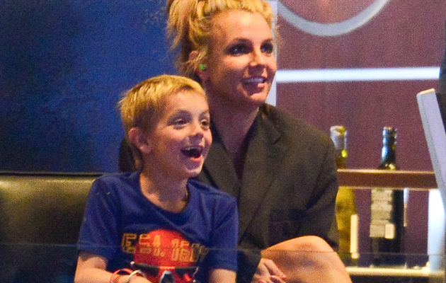 Britney Spears Shares Cute Selfie Video with Her Kids