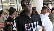 Young Thug -- Joins Mile High Club ... With Sizzurp