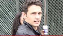 James Franco -- I'm NOT A Movie Thief!