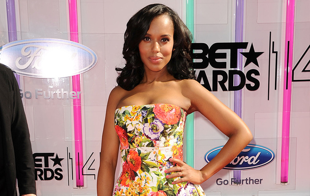 Kerry Washington Flaunts Post-Baby Body at 2014 BET Awards -- See All the Red Carpet Pics!