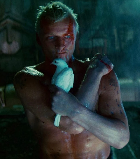 "Rutger Hauer is best known for playing the creepy blue-eyed replicant leader Roy Batty in the 1982 futuristic film ""Blade Runner."""