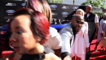 Floyd Mayweather Jr. Denied by T.I.'s Wife on BET Awards Red Carpet (VIDEO)