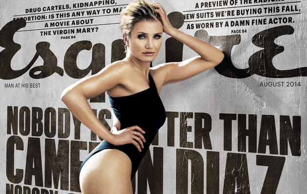 "Cameron Diaz Talks Aging, Kids & Getting Naked for ""Sex Tape"""