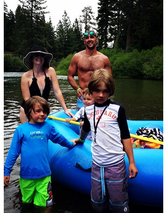 Melissa Joan Hart Posts Swimsuit Pic With The Family in Tahoe