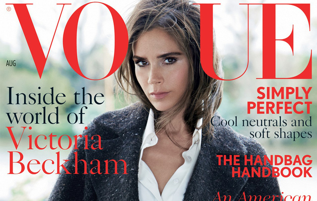 Victoria Beckham Covers British Vogue, Talks Relationship With David