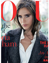 Victoria Beckham Covers British Vog